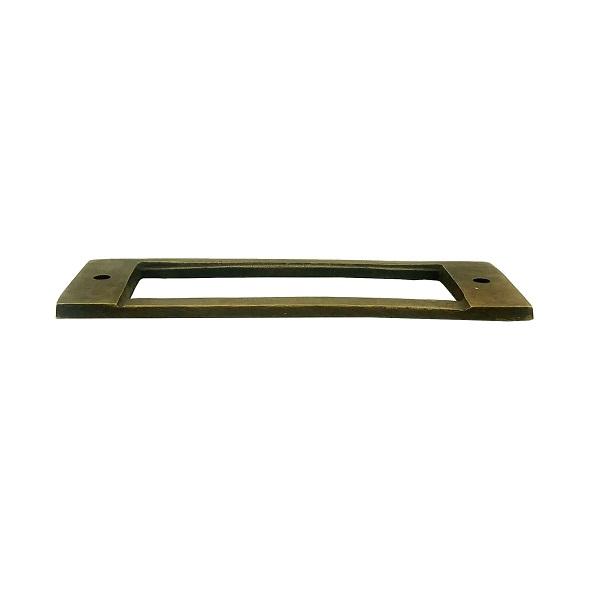真鍮 アンティークゴールド ネームプレートJ025