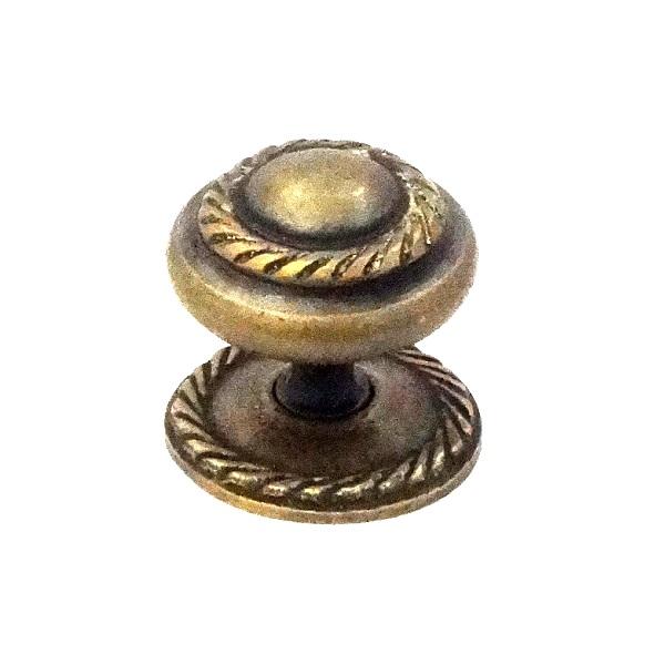 真鍮 アンティークゴールド つまみO015