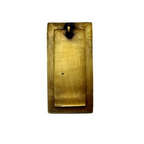 真鍮 アンティークゴールド フラット取っ手G011