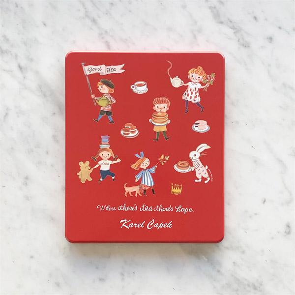 Karel Capek カレルチャペック 紅茶店 20tealovers缶 ティーバッグ20Pセット