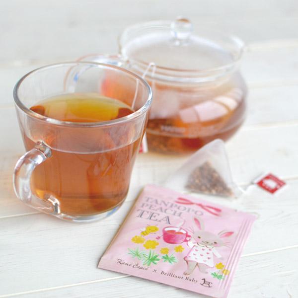 Karel Capek カレルチャペック 紅茶店 × BrilliantBaby たんぽぽピーチティー 5P