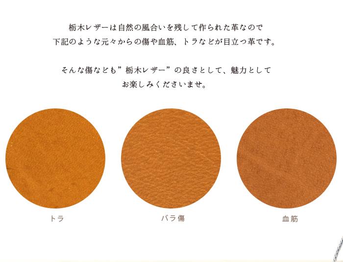 パスケース リール付 栃木レザー