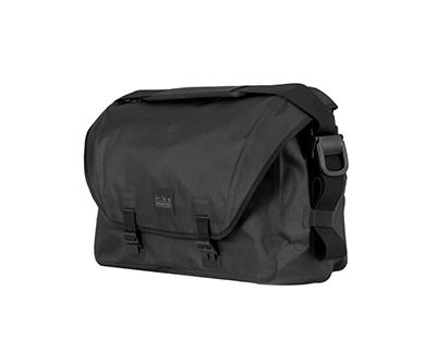 Messenger Waterproof Bag 20L Black