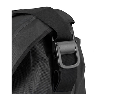 Messenger Waterproof Bag 20L Black