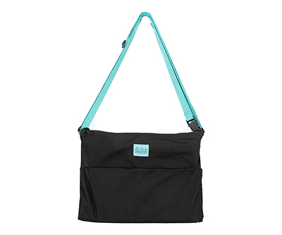 Musette, Black/Turkish Green