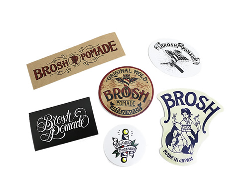 BROSH STICKERS SET