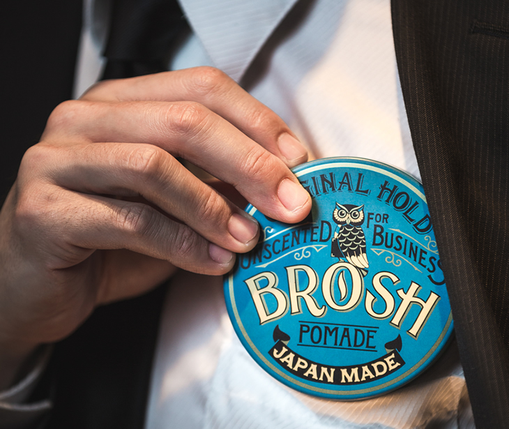 【定期】BROSH POMADE UNSCENTED