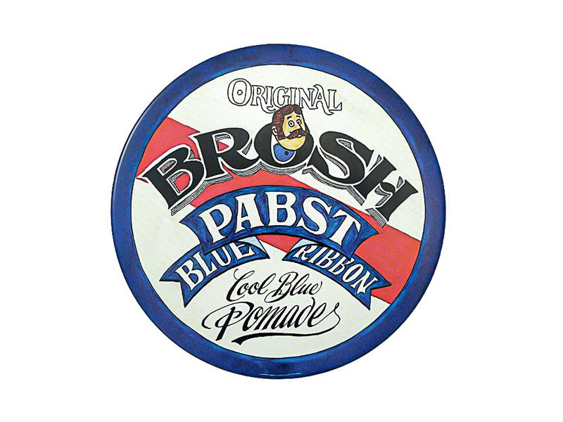 BROSH x PabstBlueRibbon collaboration POMADE