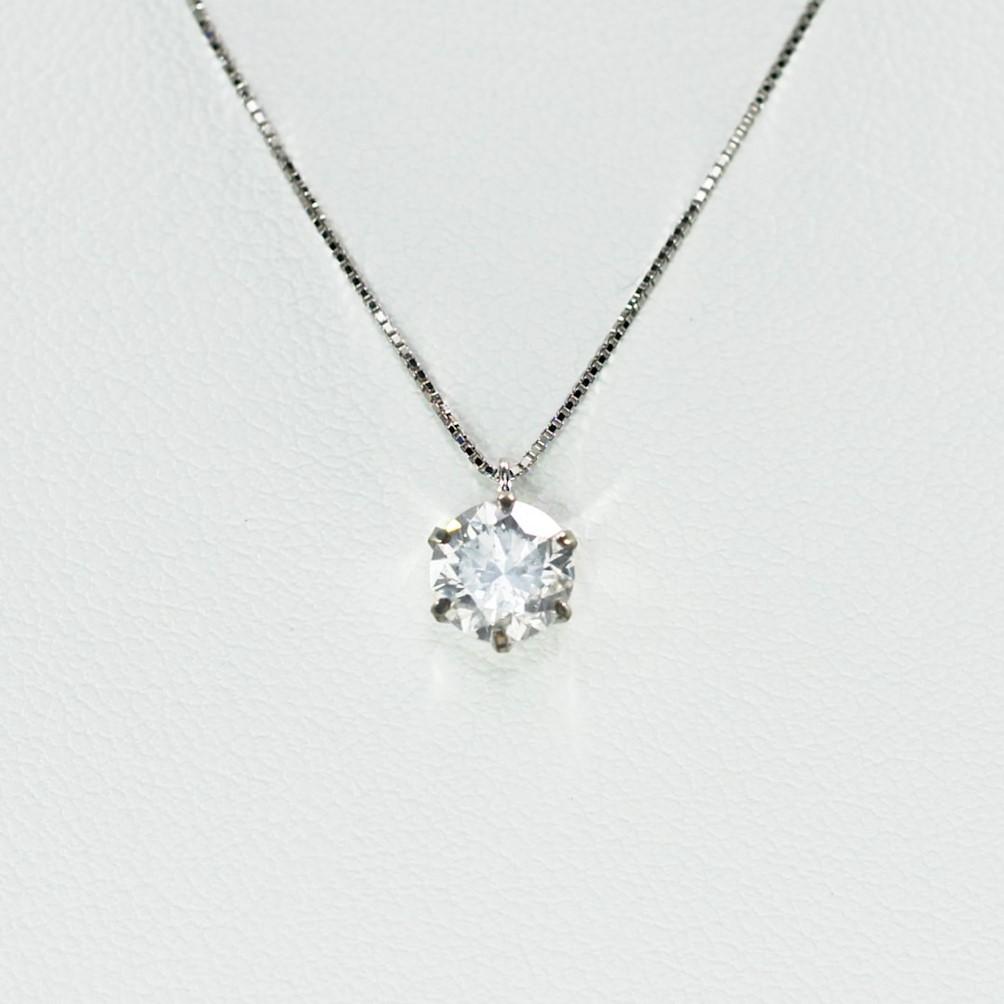 プラチナ1ct Dカラー ダイヤペンダント【期間限定商品】