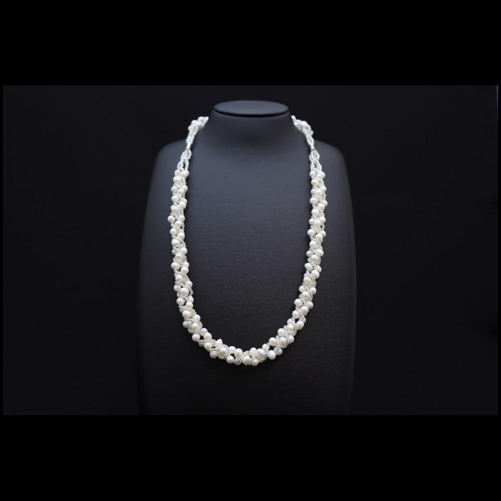 松屋銀座外商部 超大珠9.5-10mmあこや真珠ネックレスセット