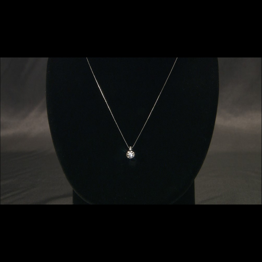 プラチナ エクセレントカット 1ct ダイヤペンダント