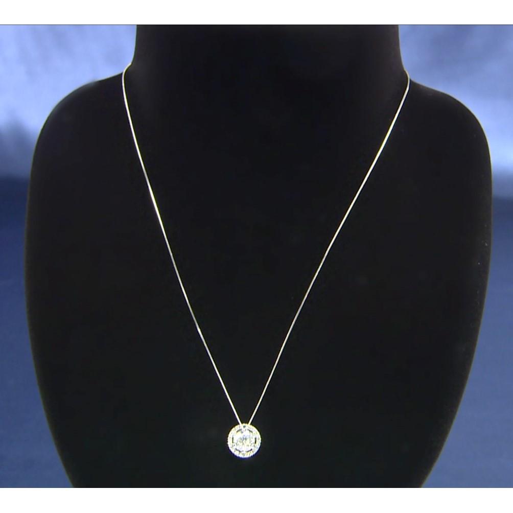 Yumi Katsura Dカラー1ctダイヤペンダント