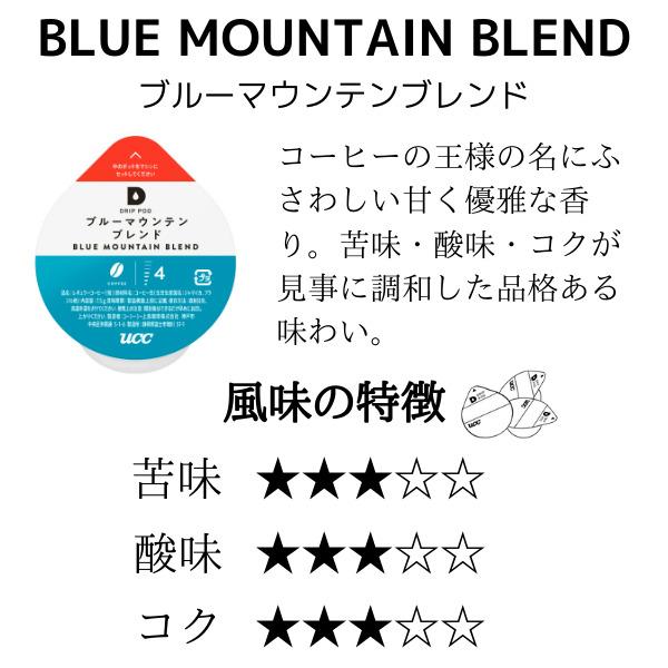 UCC  DRIP POD  ブルーマウンテンブレンド【12P×12箱(144P入り)】