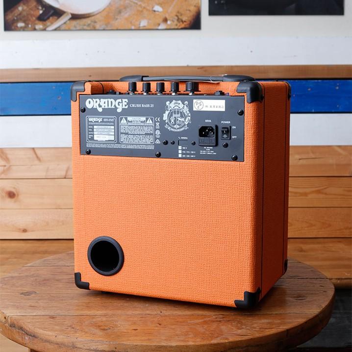 【4台限定!!ひなっち直筆サイン入り!!】OrangeAmps Crush Bass 25B HINATCH<ポストカード付>
