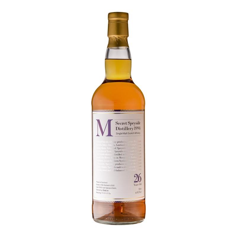 M Secret Speyside 1994【「ウイスキペディア」オリジナルボトル】