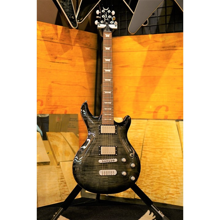 DEAN ICON FLAME TOP -Charcoal Burst