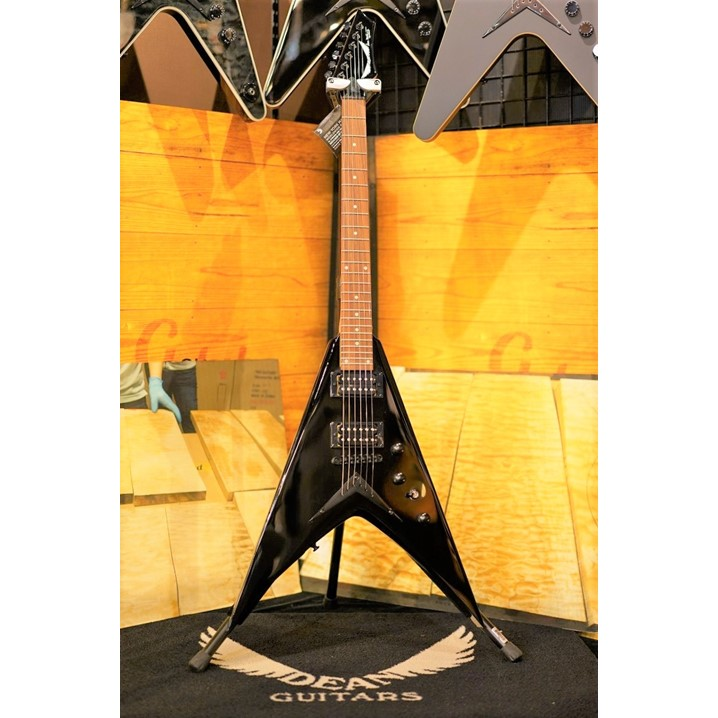 DEAN V Dave Mustaine Bolt-On - Classic Black