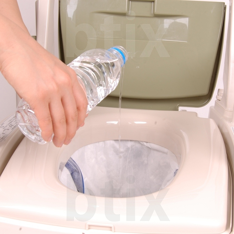 【赤の特選品】【超売れ筋】【日本製】★ポータブルトイレ用 使い捨て紙バッグ・ポイレット(30枚入り)×6パック