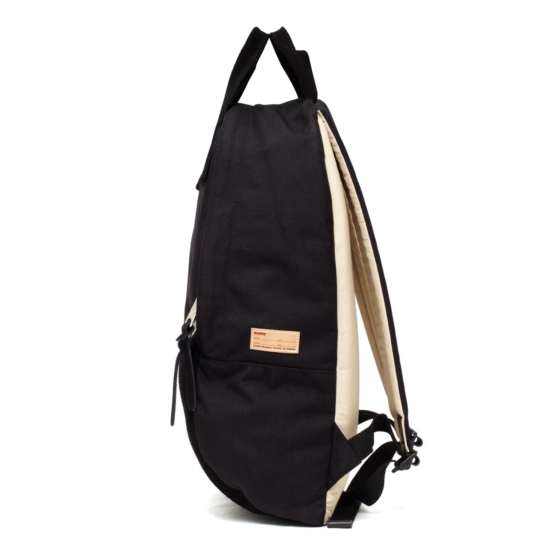 Ear Long Tote Backpack Black