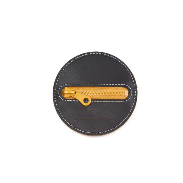 Flying Disc 10cm Black Mustard