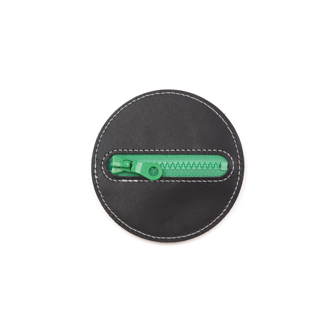 Flying Disc 10cm Black Green