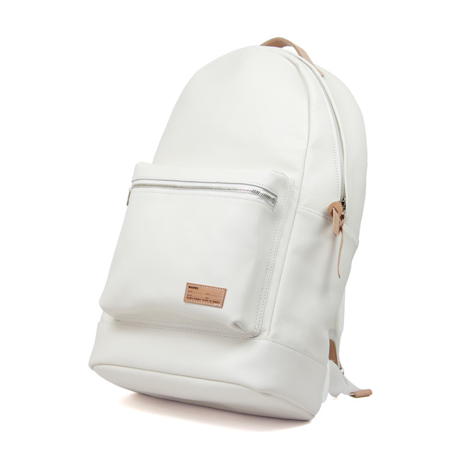 Fang Backpack Smooth Leather White