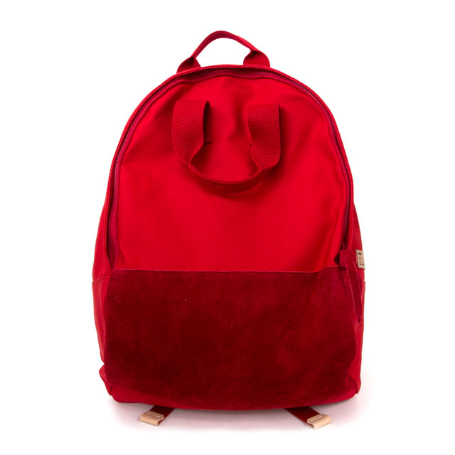 Ear Tote Backpack Red