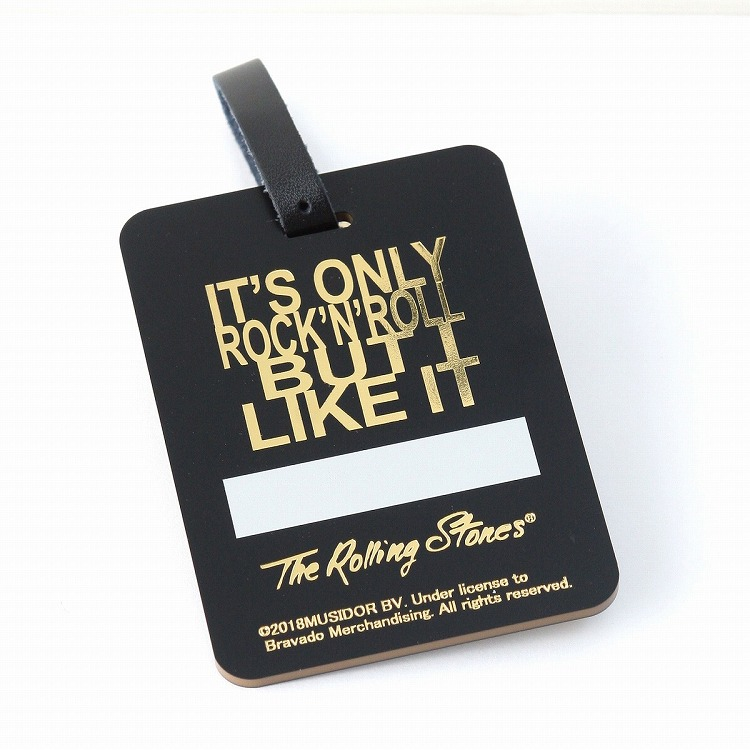 【9/23より順次発送】(The Rolling Stones GOLF) Name tag square