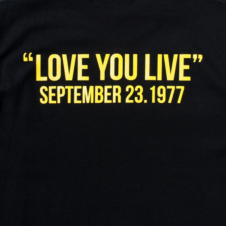 THE ROLLING STONES Tシャツ LOVE YOU LIVE