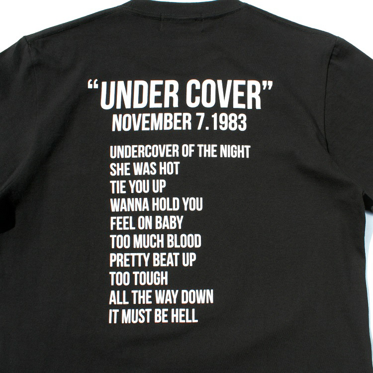 THE ROLLING STONES Tシャツ UNDER COVER