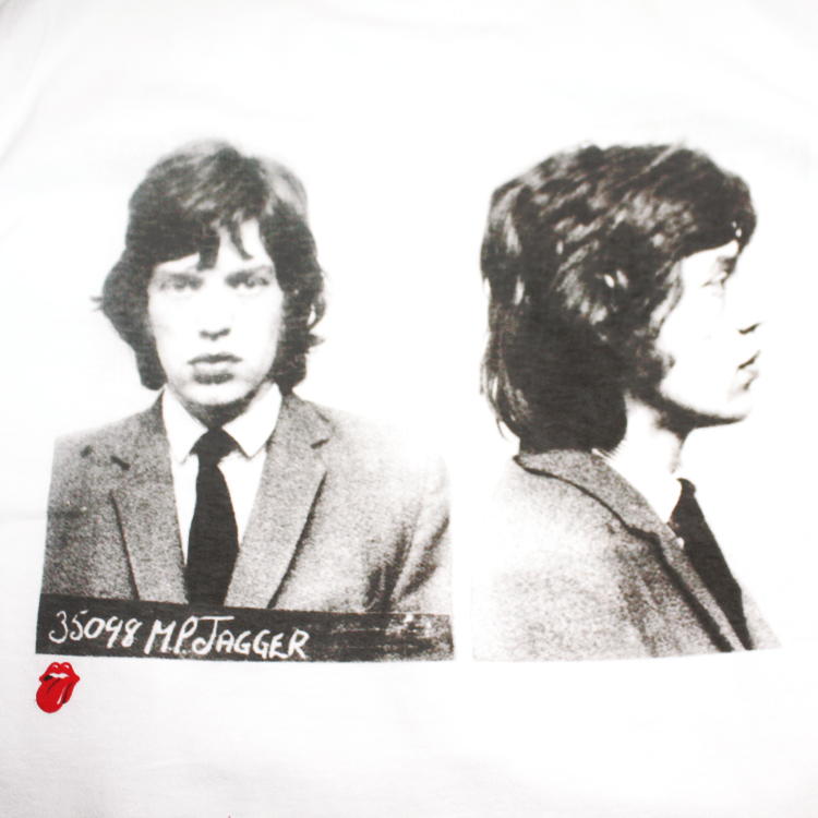 THE ROLLING STONES Tシャツ M.P.JAGGER