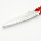 アルミ製トレーニングナイフ(小)22cm 片刃ナイフトレーナー Red