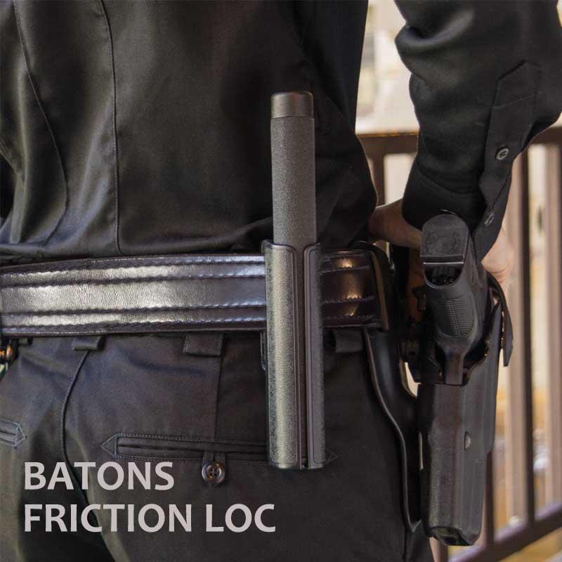 【送料無料】 ASP社 特殊警棒 フリクションロック ブラックスチール 16インチ [ASP-F16FB]