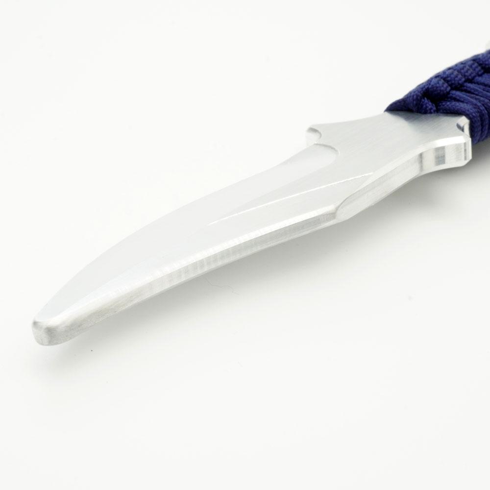 アルミ製トレーニングナイフ(小)22cm タクティカルナイフトレーナー Navy
