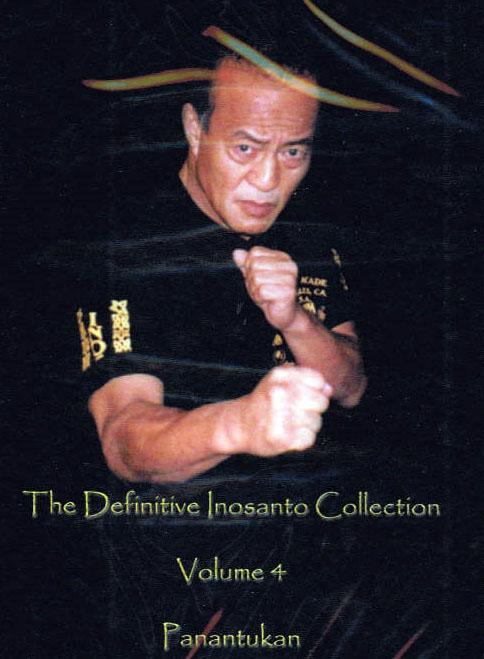 DVD ダン・イノサントコレクション Vol.4 素手・パナンテュカン編