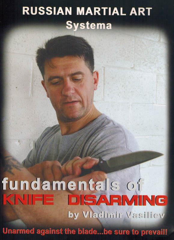 DVD ロシア武術システマ Knife Disarming 【ナイフ取り上げの原理】 英語版
