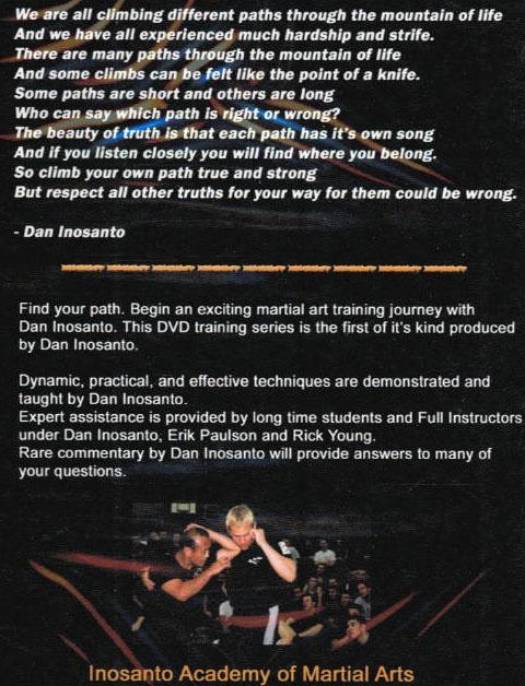 DVD ダン・イノサントコレクション Vol.1 ジュンファン・キックボクシング編