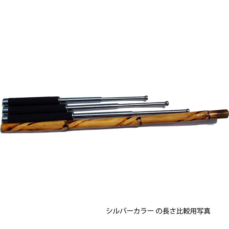 ラスト ASPタイプ特殊警棒 21インチ ガンメタ SCM440鋼 police baton