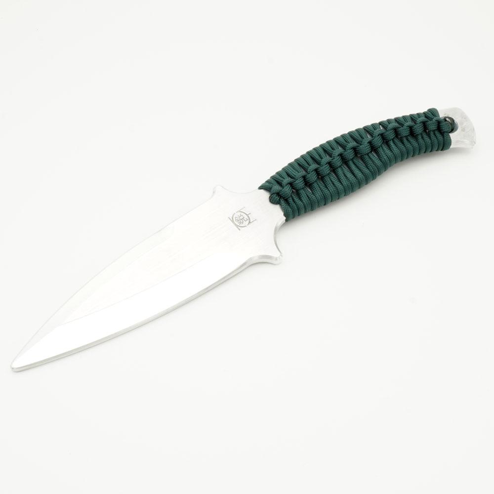 アルミ製両刃トレーニングナイフ RAVEN Tactical Operator Green