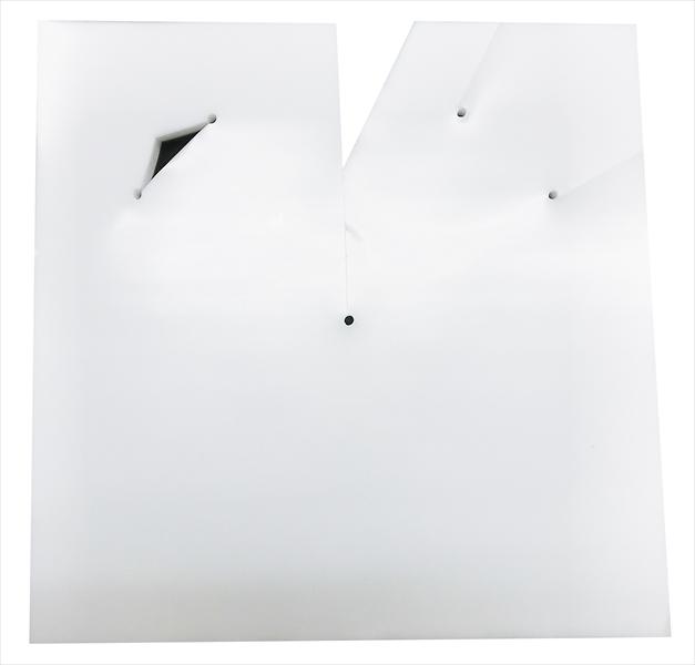 ポリ傘 27×27 サシコミ乳白(100枚)