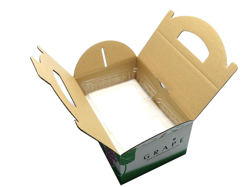 手さげ箱 OT-1 ぶどう 約1�用 (50枚入)