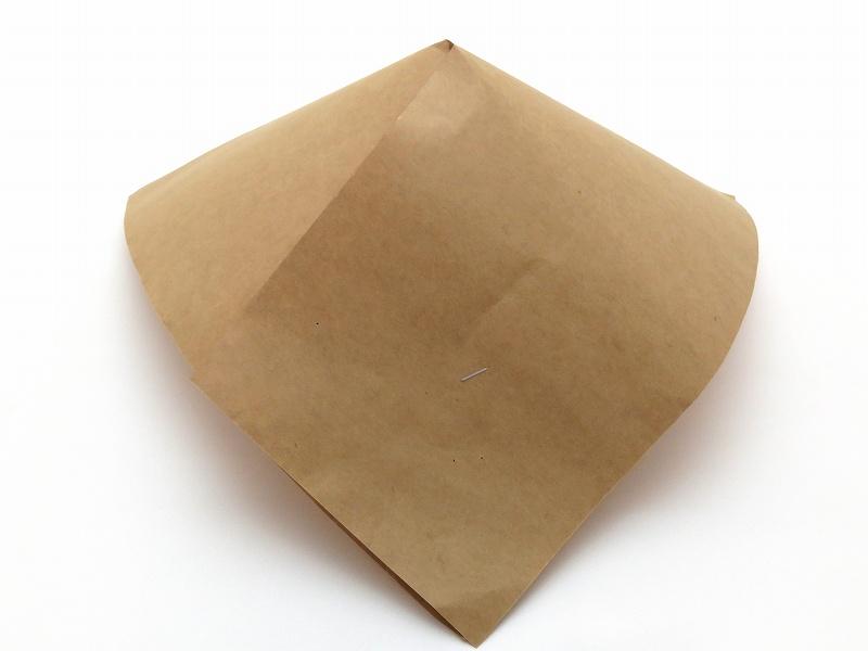 クラフト傘 270×270 茶(100枚入)