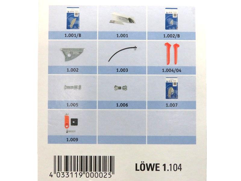 LOWE ライオン 剪定鋏 アンビル 1104