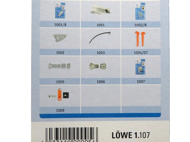 LOWE ライオン 剪定鋏 アンビル 1107