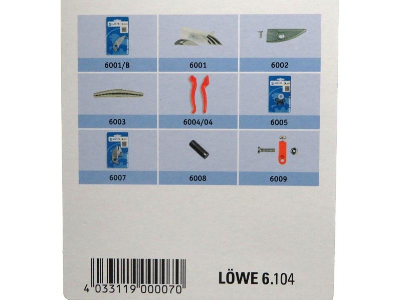 LOWE ライオン 剪定鋏 アンビル プロ用 6104