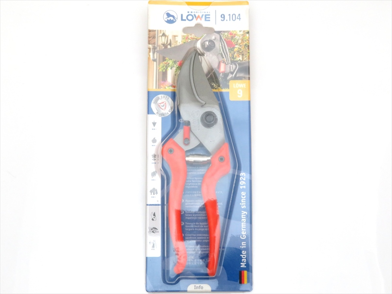 LOWE ライオン 剪定鋏 アンビル 9104