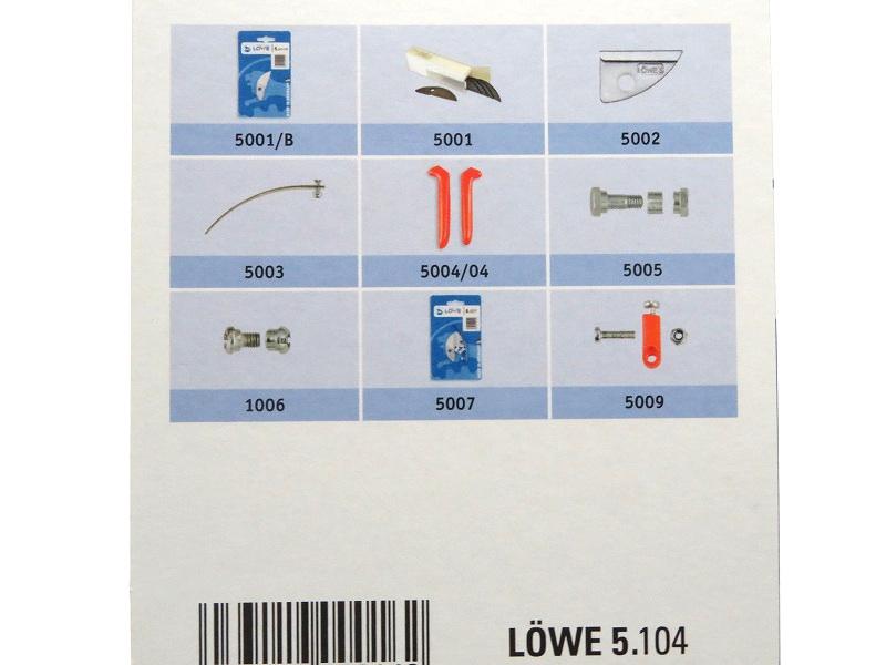 LOWE ライオン 剪定鋏 アンビル 5104