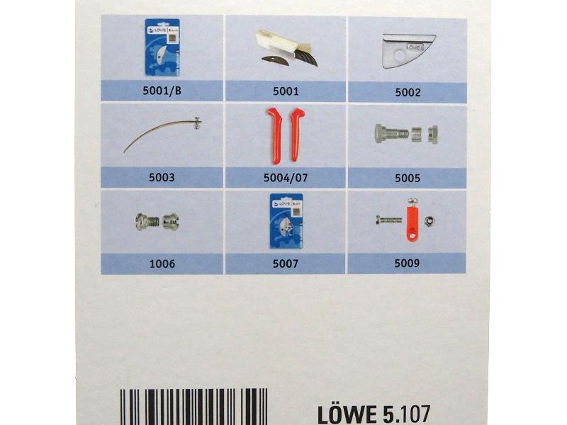 LOWE ライオン 剪定鋏 アンビル 曲り 5107