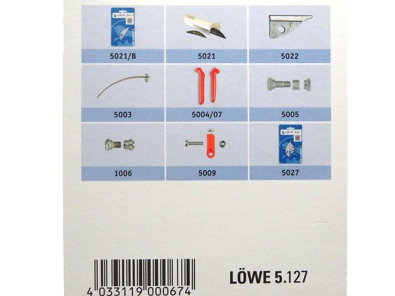 LOWE ライオン 剪定鋏 アンビル 長刃 5127
