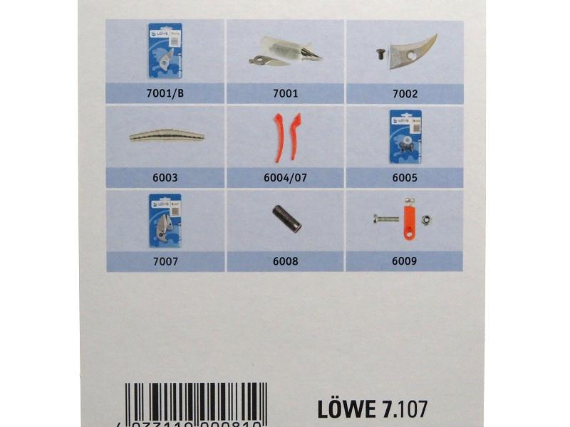 LOWE ライオン 剪定鋏 アンビル 7107